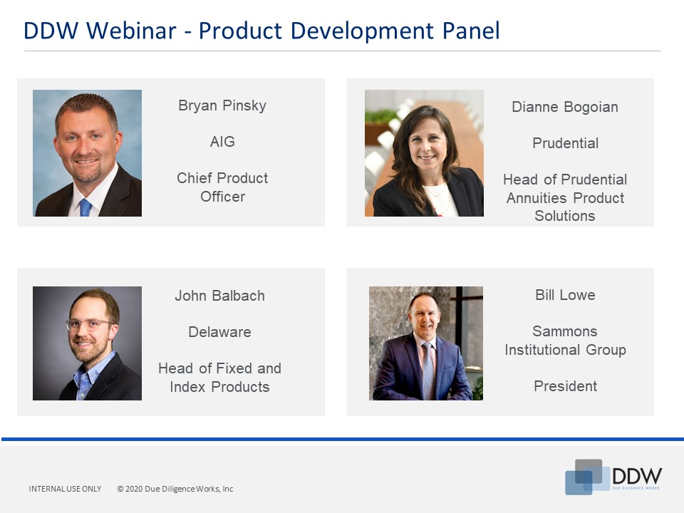DDW s Chief Product Officers Webinar Panel