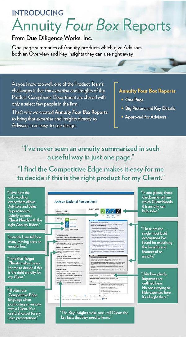 Advisor 4 Box Reports