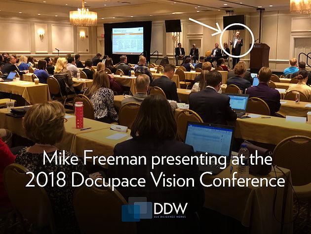 Mike Freeman presenting